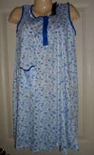WOMEN'S NIGHTGOWN GOWN SLEEVELESS COTTON BLEND, COLORS , MEDIUM,Closeout! NWT!