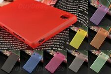 Sony Xperia Z3 D6603 D6653 Translucent Smooth Touch Case Hard Ultra Thin Cover