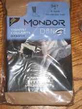 NEW Mondor Children's dance 347 Suntan 82 Footless Nylon TIGHTS 8-10 or 10-12