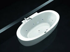 Laufen ALESSI ONE back to wall hydromassage bath tub