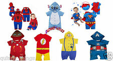 BABY Toddler Boy Supereroe Fumetti Romper Party Costume / Costume / Play outfit.