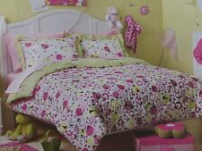 NEW CIRCO LADYBUGS GARDEN NATURE REVERSIBLE BEDDING BED SET 7 PC FULL  5 PC TWIN