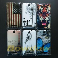 New Leopard Tiger back hard case cover For Sony Xperia E C1505 C1504 C1605 C1604