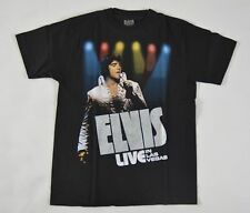 New Elvis Presley Singer Actor Short Sleeve Black T-Shirt size M/L/XL - NEW