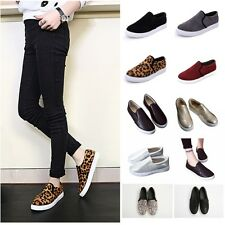 2015 Hot Fashion Women Ladies Flat Casual Loafers Suede/PU Slip-on Sneaker Shoes
