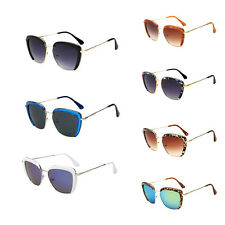 Vintage Cat Eye Half Frame Eyewear Sunglasses Womens Party Glasses Shades FST