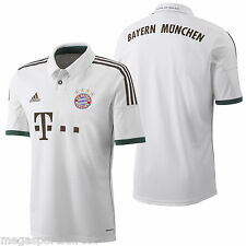 adidas Bayern Munich Away Football shirt BNWT Germany 2013-14 Soccer Jersey Kids