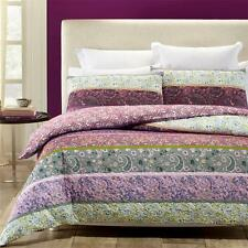 Phase 2 Avonleigh Purple Lilac Quilted Quilt Doona Cover Set - DOUBLE QUEEN KING