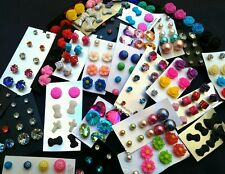 Wholesale Lot STUD Earrings 50 pairs Brand New FREE SHIPPING #US Seller��������