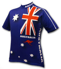 Australia Cycling Jersey World Jerseys Men's Short Sleeve socks bike bicycle