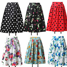 CHEAP~~RETRO Housewife VINTAGE 50s Rockabilly Pinup Midi Full Circle Skirt Dress