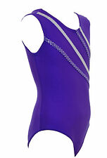 Olympus Sleeveless Girls / Ladies /Gym / Dance / Gymnastic Purple