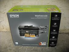 New Epson WorkForce 630 Wireless All-in-One Color Inkjet Printer