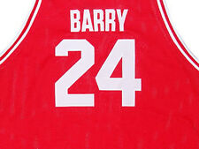 RICK BARRY ROSELLE HIGH SCHOOL JERSEY RED NEW -   ANY SIZE XS - 5XL