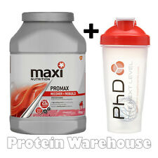New Maxi Nutrition Maximuscle Promax 780g Protein + Free Maxi Shaker