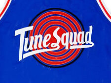 BUGS BUNNY TUNE SQUAD SPACE JAM JERSEY BLUE NEW  SEWN ANY SIZE S - 5XL