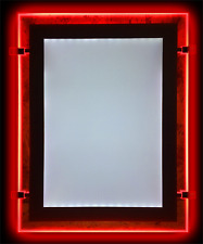 A4 Coloured LED Light Pocket, Estate Agent Window Display, Red Green Blue Yellow