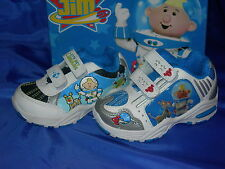 Boys Trainers Kids Lunar Jim Rover/Mars White/Blue Silver  Sizes 4-8 Available
