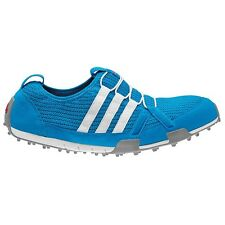 NEW WOMEN'S ADIDAS CLIMACOOL BALLERINA GOLF SHOES BLUE/WHITE Q46958 -PICK A SIZE