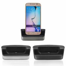 Dual OTG USB Sync Battery Charger Dock Holder Stand For Samsung Galaxy S6 Active