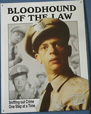 "Metal Sign ""Barney Fife ofThe Andy Griffith Show"""