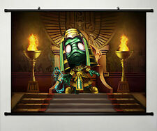 Wall Scroll Poster Fabric Painting for League of Legends LOL Amumu 005