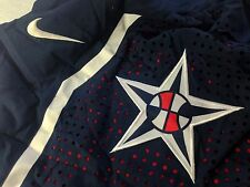 NIKE AUTHENTIC USA MENS NATIONAL TEAM BASKETBALL GAME SHORTS OLYMPIC FIBA NAVY S