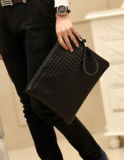 2015 men's fashion tide male bag female hand-woven clutch bag envelope clutch