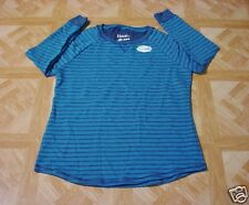 Hanes Women's French Terry Stripe Tunic Top Size Large