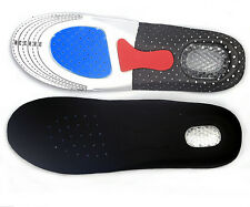 Womens Mens Sporting Running Arch Support Shoe Insole Pad Gel Heel Foot Care New