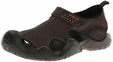 Crocs Swiftwater Sandal 15041 Espresso Relaxed Fit