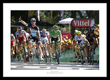 Mark Cavendish 2015 Tour de France Cycling Photo Memorabilia (313)