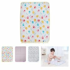 Baby Changing Pad Infant Cotton Printed Cover Toddler Waterproof Urine Mat 70x50