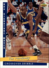1993 94 Upper Deck NBA Signature Moves #239 Tim Hardaway Golden State Warriors