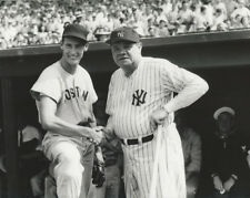 MLB Baseball Boston Red Sox Ted Williams and Babe Ruth Photo Picture Print