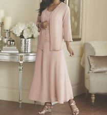 Mother of Bride Groom Wedding evening Prom Gown&Jacket formal dress plus XL2X 3X