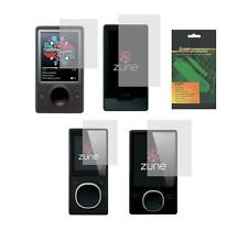 2X Clear Screen Protector Guard Shield for Microsoft Zune 4 8 16 30 32 80 120 GB