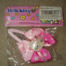 Girls Fun Hello Kitty Hair Accessories - Ponytail bands & Hair clips. UK Seller