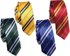 New Cosplay Harry Potter Gryffindor Ravenclaw Slytherin Hufflepuff Tie Costume