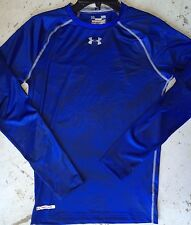 Men's Under Armour UA Heatgear Sonic Compression Long Sleeve Shirt Blue 1238639