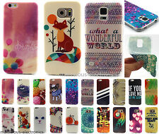 Lovely Multi Pattern Soft TPU Gel Skin Back Case Cover For Samsung Galaxy Apple