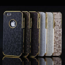 New Luxury Plating Design hard Case cover for Apple iphone 4S 5 5S