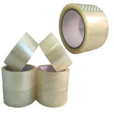 CLEAR PARCEL PACKING TAPE PACKAGING CARTON SEALING 45MM X 60M