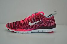 WOMENS NIKE FREE 5.0 TR FIT 4 PRT RUNNING SHOES SIZE 5.5 PINK WHITE 629832 602