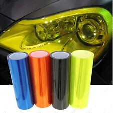 Auto Car Sticker Smoke Fog Light HeadLight Taillight Tint PVC Film Sheet L22
