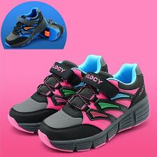 Boys Girls Roller Skate Shoes Kids Children Sneakers With Wheel Size 12-5 FX2016