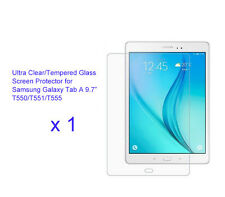 "For Samsung Galaxy Tab A 9.7"" Ultra Clear/Tempered Glass screen protector Film"