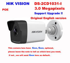 New HIKVISION DS-2CD2032F-IW 3MP HD POE IR Bullet Network IP Mini Camera 4mm