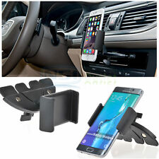 Car CD Dash Slot Mount Holder Dock For iPhone 6S/ 6S Plus Samsung S6 Edge Note 5