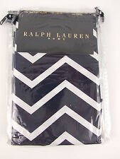 RALPH LAUREN HOME - HERRING BONE NAVY SQUARE PILLOW CASE 100% COTTON 60% OFF RRP